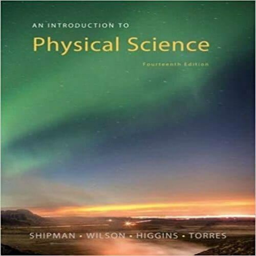 An Introduction To Physical Science 14th Edition pdf free download